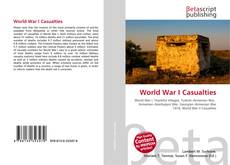 Bookcover of World War I Casualties