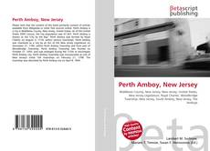 Bookcover of Perth Amboy, New Jersey