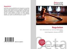 Bookcover of Regulation
