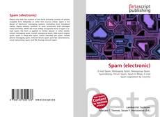 Buchcover von Spam (electronic)