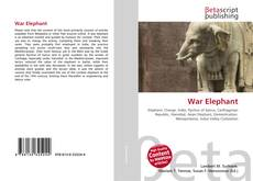Bookcover of War Elephant