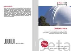 Capa do livro de Observatory