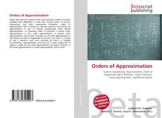 Couverture de Orders of Approximation