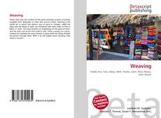 Bookcover of Weaving