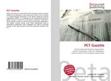 Buchcover von PCT Gazette