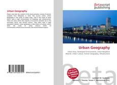 Обложка Urban Geography