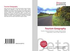 Bookcover of Tourism Geography