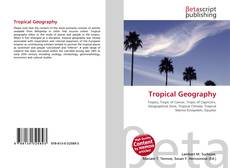 Bookcover of Tropical Geography
