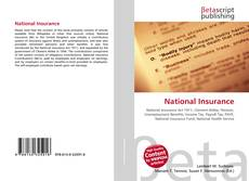 Bookcover of National Insurance