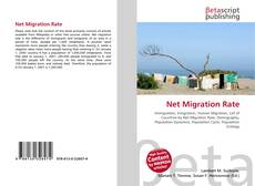 Bookcover of Net Migration Rate