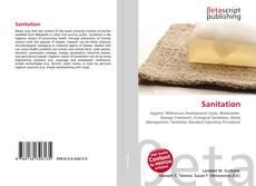 Bookcover of Sanitation