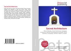 Sacred Architecture kitap kapağı