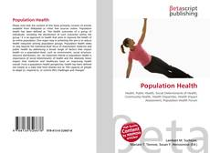 Bookcover of Population Health