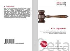 Portada del libro de R. v. Drybones