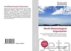 Bookcover of World Meteorological Organization