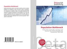 Capa do livro de Population Bottleneck