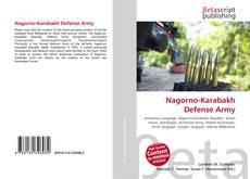 Portada del libro de Nagorno-Karabakh Defense Army