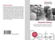 Portada del libro de Women's History
