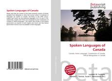 Portada del libro de Spoken Languages of Canada