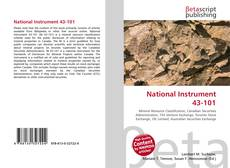 Buchcover von National Instrument 43-101