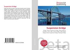 Portada del libro de Suspension bridge
