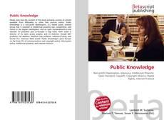 Portada del libro de Public Knowledge