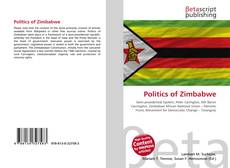 Capa do livro de Politics of Zimbabwe
