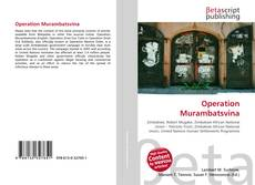 Capa do livro de Operation Murambatsvina