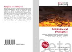 Portada del libro de Religiosity and Intelligence