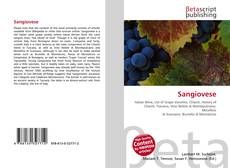 Bookcover of Sangiovese