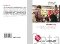 Capa do livro de Reactionary