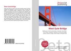 Capa do livro de West Gate Bridge