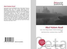 Abu'l Kalam Azad的封面