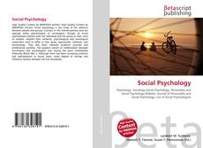 Bookcover of Social Psychology