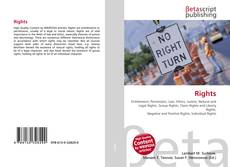 Bookcover of Rights