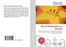 Обложка Rise of Nationalism in Europe