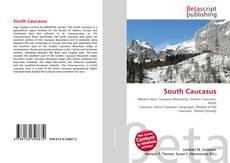 Bookcover of South Caucasus