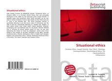 Bookcover of Situational ethics