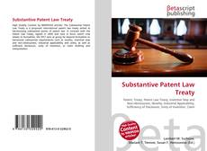 Bookcover of Substantive Patent Law Treaty