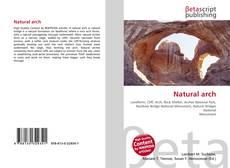 Buchcover von Natural arch
