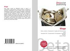 Bookcover of Wage