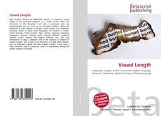 Bookcover of Vowel Length