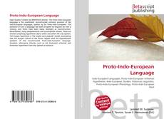 Обложка Proto-Indo-European Language