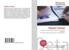 Bookcover of Regular Isotopy