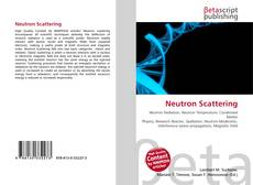 Bookcover of Neutron Scattering