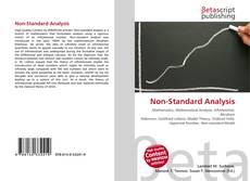 Couverture de Non-Standard Analysis