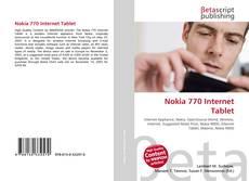 Nokia 770 Internet Tablet kitap kapağı