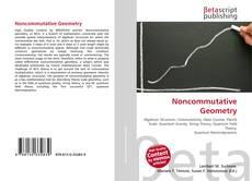 Bookcover of Noncommutative Geometry