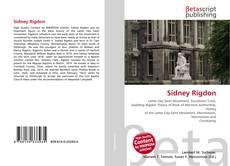 Sidney Rigdon kitap kapağı