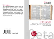 Обложка Sola Scriptura